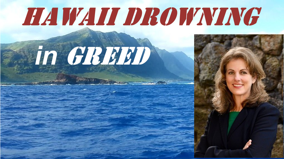 An Open Letter to Hawaii Attorney General, Clare Connors